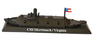 CSS Merrimack/Virginia Metal Model Ship